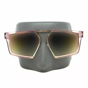 Oversized Vintage Designer Retro Style Sunglasses